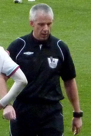 English football referee Chris Foy