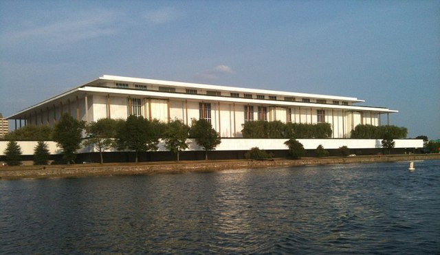 File:Kennedy Center seen from the Potomac River, June 2010.jpg
