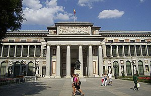 Prado Museum in Madrid, by Juan de Villanueva