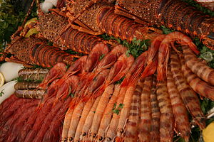 Español: Marisco diverso - cocina española