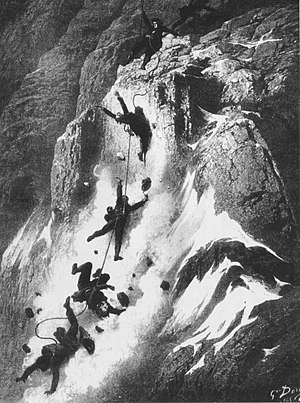 Disaster strikes just after the first ascent o...