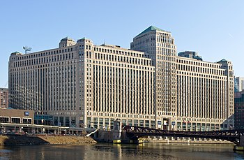 English: Merchandise Mart, Chicago, Illinois. ...