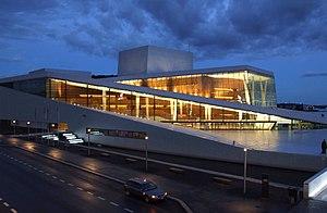 Deutsch: Das neue Opernhaus, Oslo, Norwegen. E...