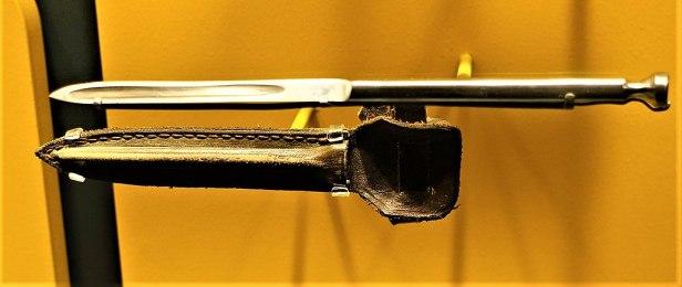 Sleeve Dagger with Sheath - www.joyofmuseums.com - International Spy Museum