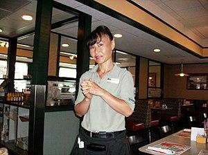 Waitress.