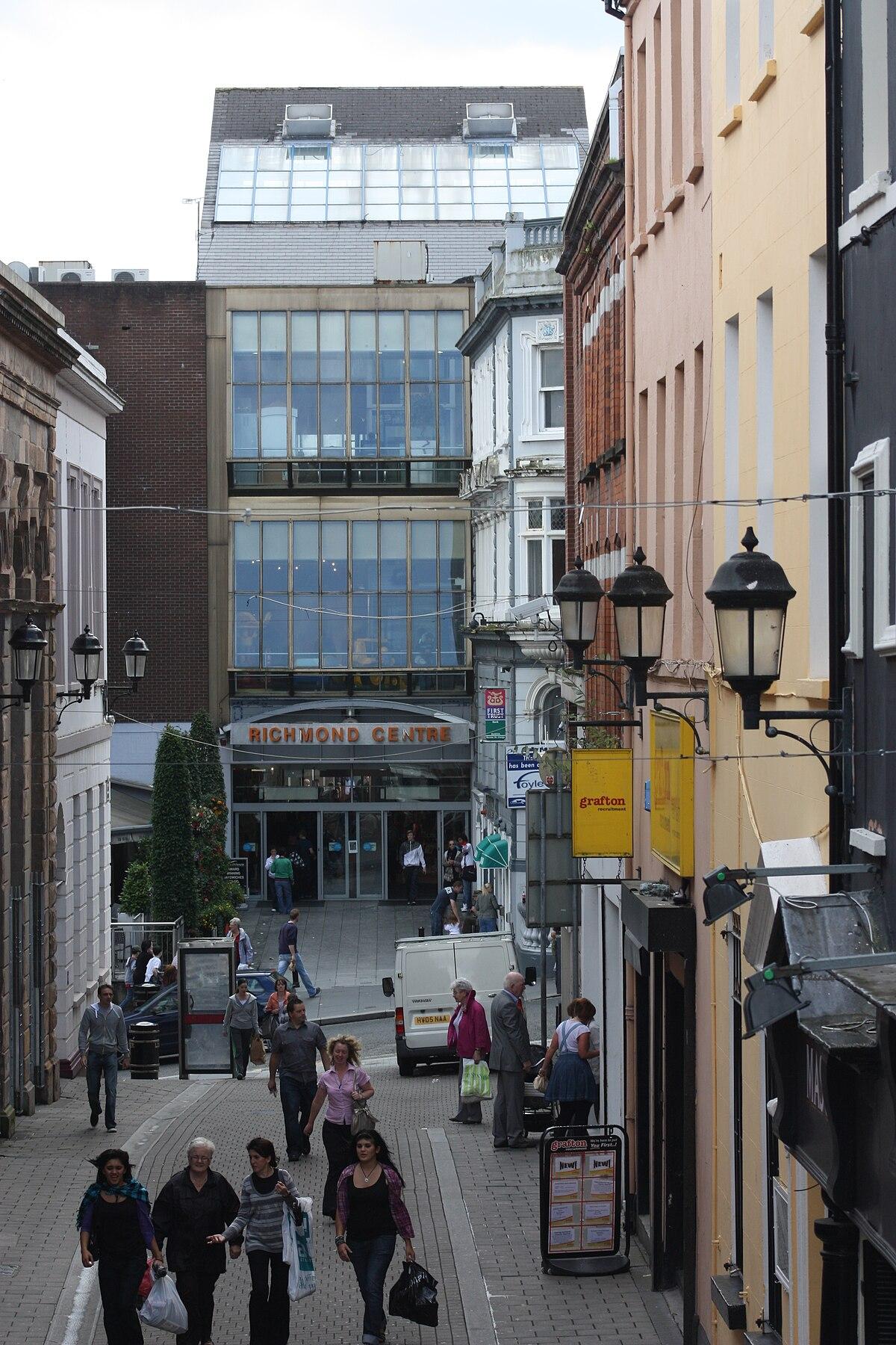 Richmond Centre Derry Wikipedia