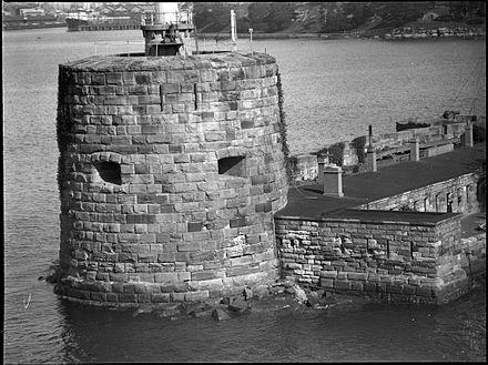 Fort Denison circa 1930