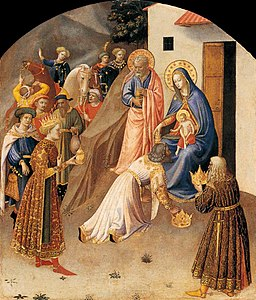 Fra Angelico - Adoration of the Magi - WGA00640