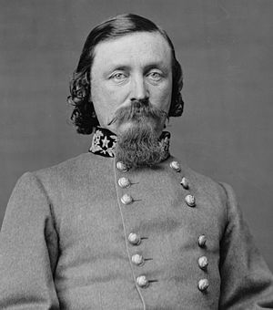 George Pickett wearing one version of Three Go...