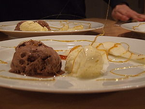 Ice-cream dessert