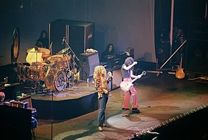 Led Zeppelin, January 1975, Chicago