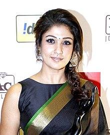 Nayanthara at Filmfare Awards.jpg