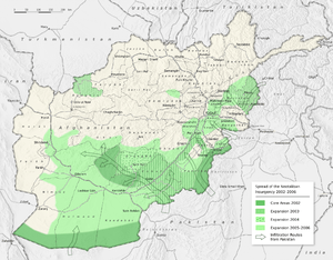 Spread of the Neotaliban-Insurgency in Afghani...