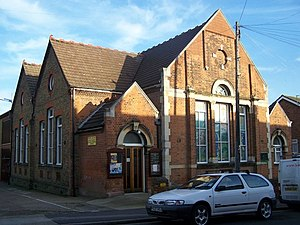 English: Peninsula Methodist Church, Strood On...