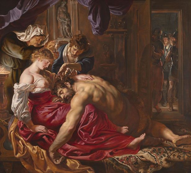 Samson and Delilah by Rubens