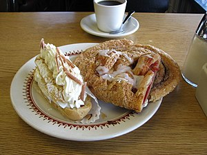 English: Pastries in Solvang