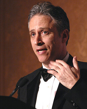 "Jon Stewart, host of Comedy Central's ""Th..."