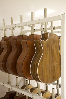 TGFT38 ready to be painted - Taylor Guitar Factory