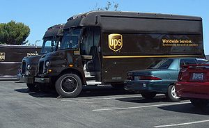 Larger UPS package vehicles custom made by Gru...