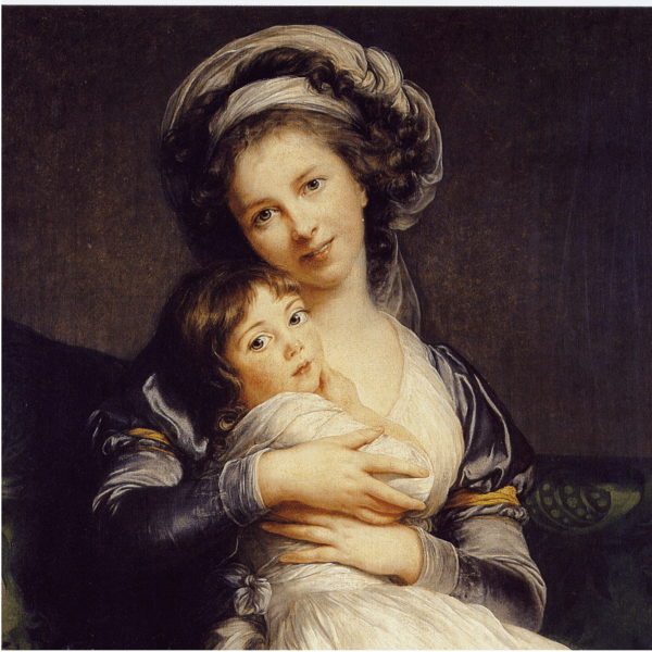 File:Vigée-Lebrun, Marie Louise Elisabeth - Self-Portrait in a Turban with Her Child - 1786.PNG