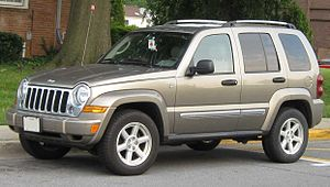 2005-2007 Jeep Liberty photographed in College...