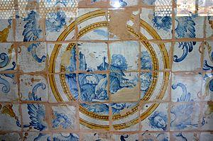 Relics of the 1627 Montelupo Fiorentino maioli...