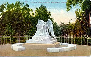 "English: Scan of Postcard ""856 - Angel of..."