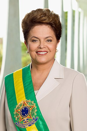 Official photo of President Rousseff, taken by...
