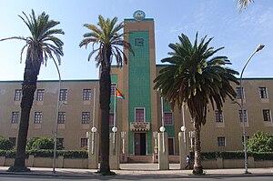 Building of a regional administration Asmara, ...