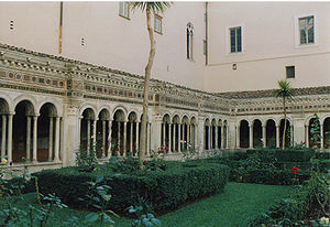 Cloister of the monastery of San Paolo fuori l...