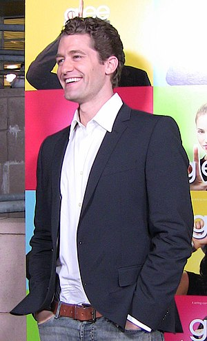 Actor Matthew Morrison at premiere party of TV...