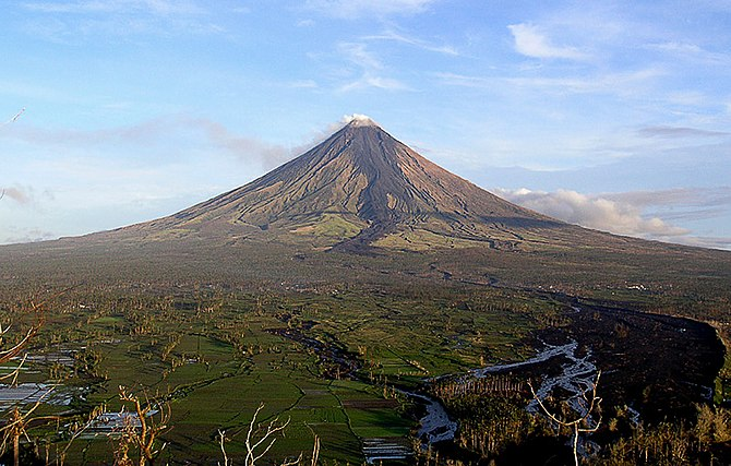 English: Mayon Volcano in Albay, Philippines