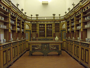 19th century Italian pharmacy