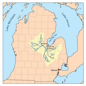 Cass River Michigan Wikipedia