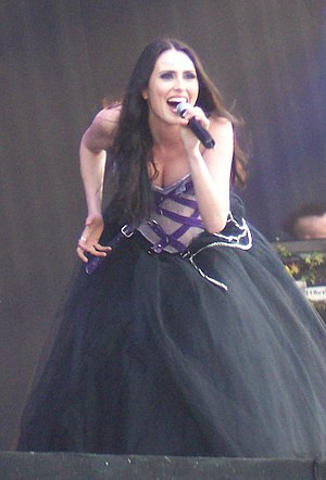 English: Sharon den Adel (Within Temptation)