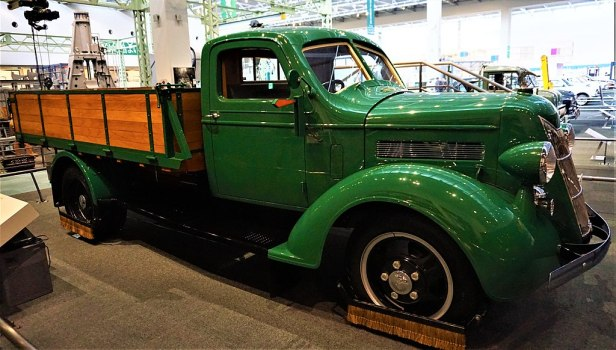 Toyota Truck G1 Model - Toyoda first Truck - Joy of Museums - Toyota Commemorative Museum of Industry and Technology
