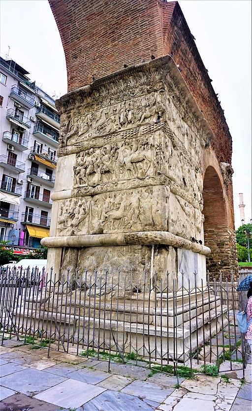 Triumphal Arch of Galerius - Thessaloniki, Greece
