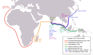 Voyages of St. Francis Xavier, a Catholic miss...