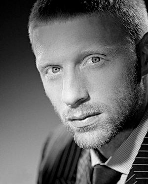 English: Boris Becker photographed by Studio H...