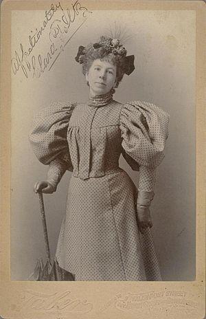 Clara S. Foltz (1849-1934), first female lawye...