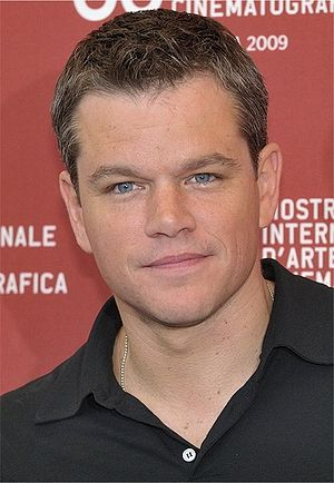 Matt Damon at the 66th Venice International Fi...