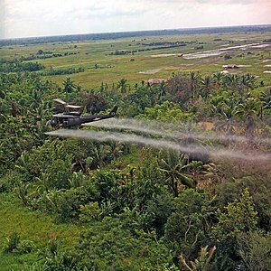 Vietnam. Defoliation Mission.