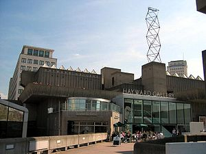 Hayward Gallery, London. Photograph taken by M...