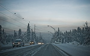 Fairbanks at -40.