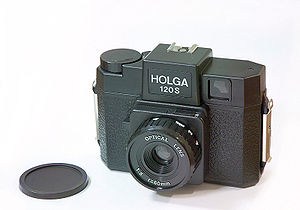 China's Holga camera takes medium-format photo...