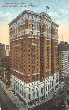 Hotel Mcalpin Wikipedia