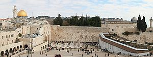 Western Wall in the Old City of Jerusalem, the...