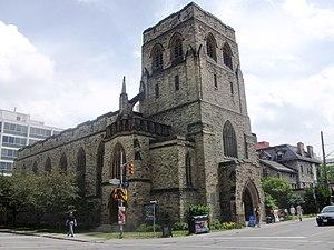 English: Picture of Knox Presbyterian Church i...