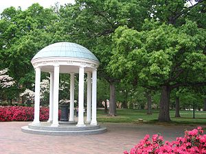 English: The Old Well and McCorkle Place at th...