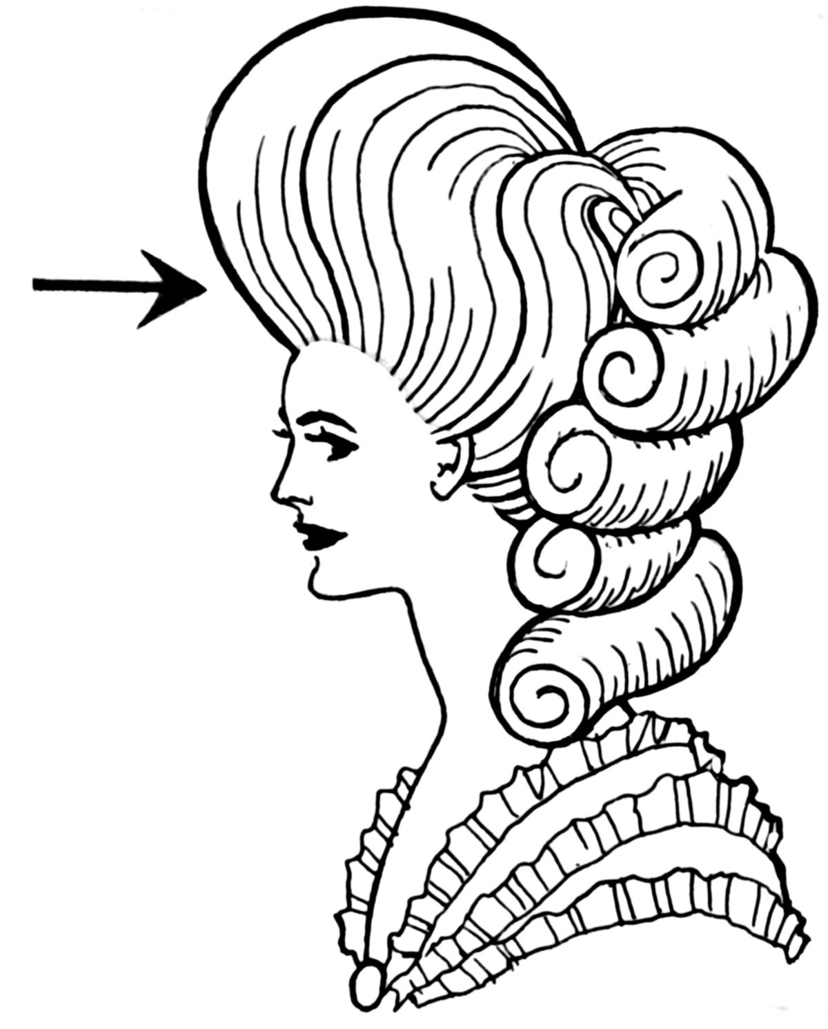 Pompadour Hairstyle Wikipedia